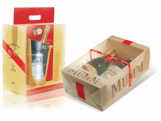 Mumm an Laphroaig gift box