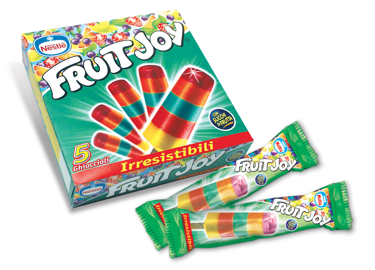 Nestlé gelato Fruit Joy