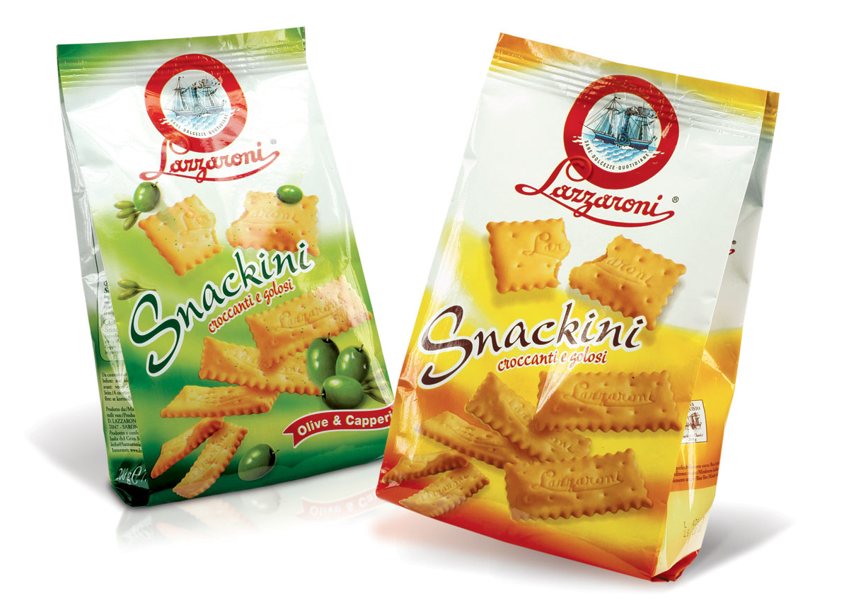 Lazzaroni crackers Snackini