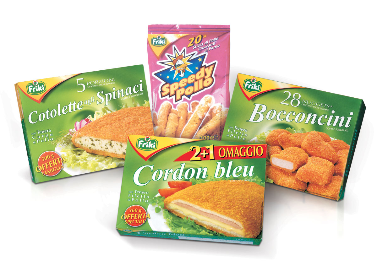 Friki frozen products