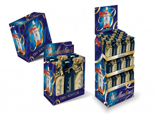 Ballantines Xmas pop package