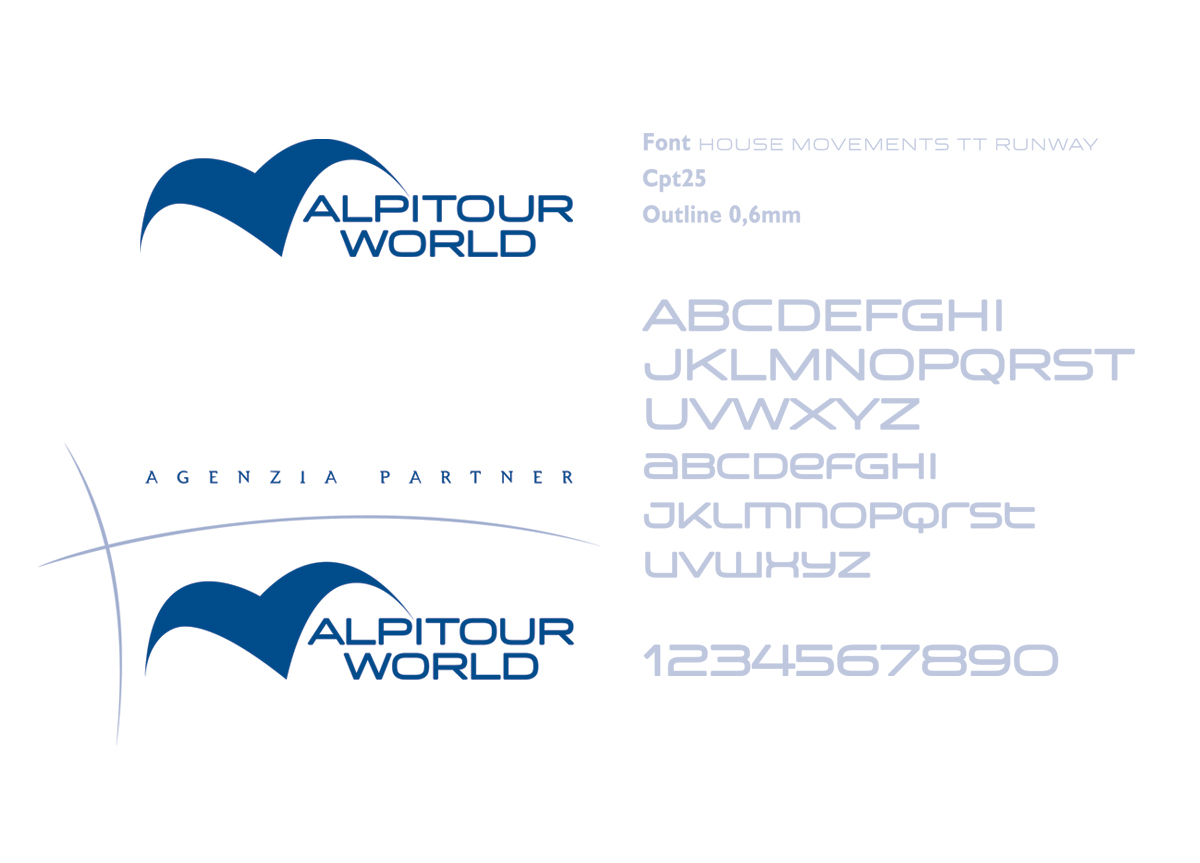 Alpitour brand identity