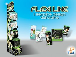 TBS Flexiline floor expo