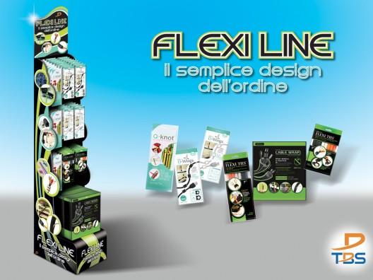 TBS Flexiline floor expo