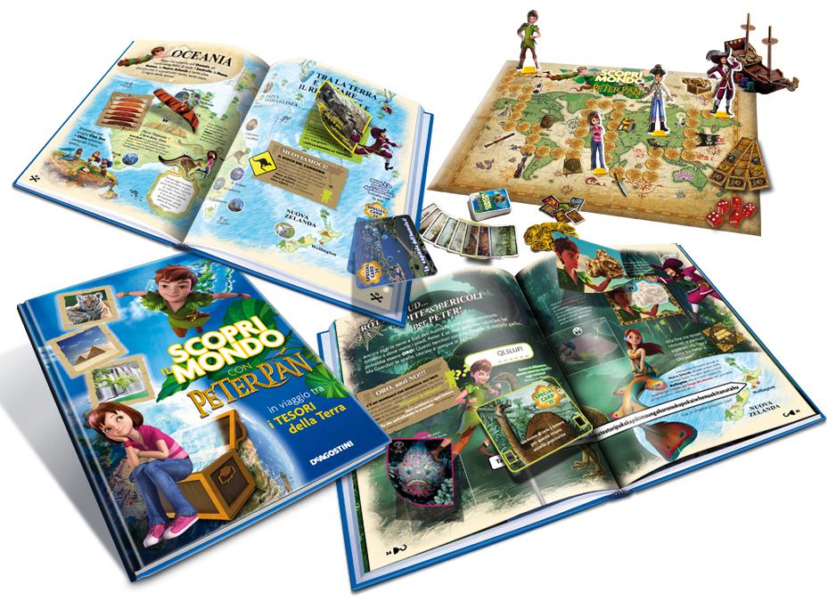 DeAgostini Scopri il mondo con Peter Pan