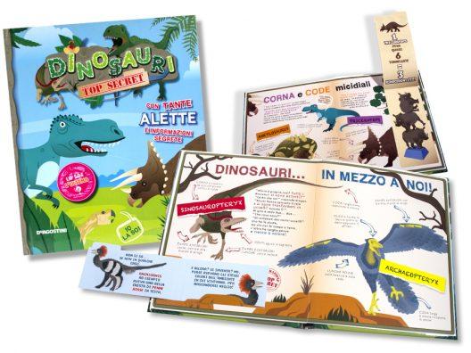 DeAgostini Dinosauri Top Secret