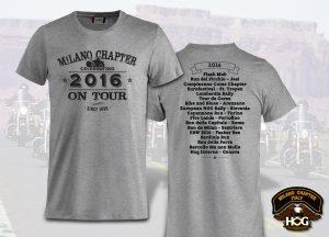 Harley-Davidson Gate32 Milano Chapter T-Shirt