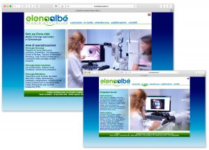 Elena Albé sito web